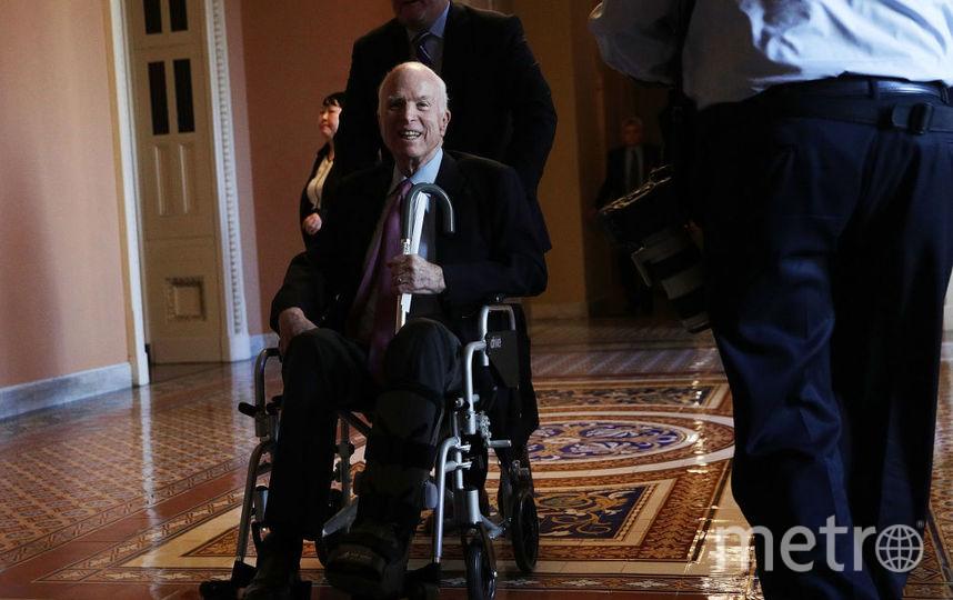 Джон Маккейн, фотоархив. Фото Getty
