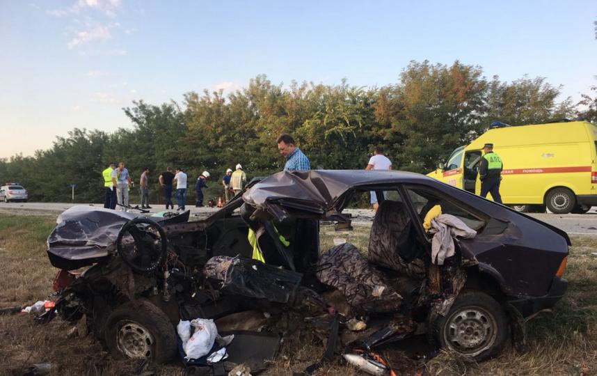 В ДТП в Краснодарском крае погибли пять человек. Фото https://23.мвд.рф/
