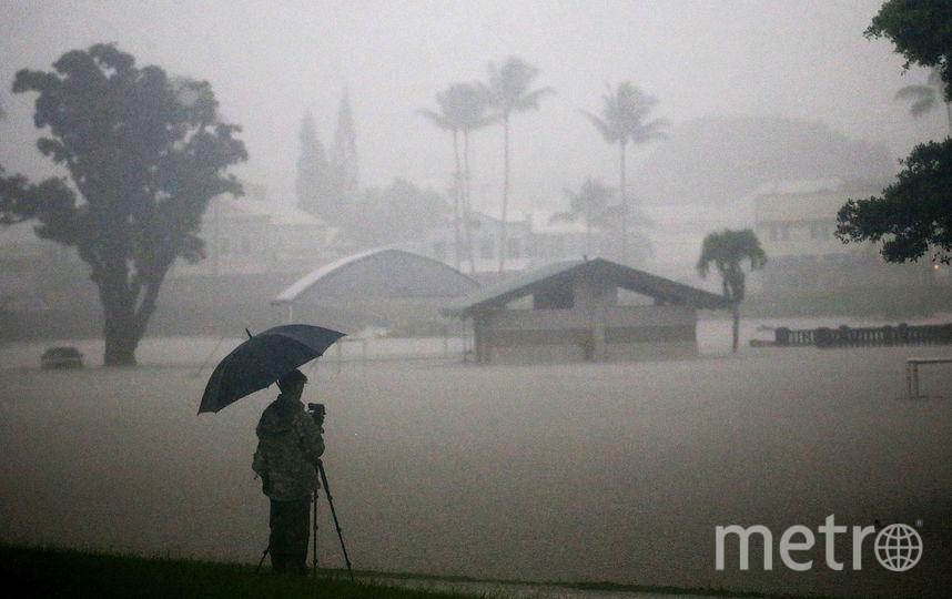 Сильный шторм на Гавайях спровоцировал наводнения. Фото Getty