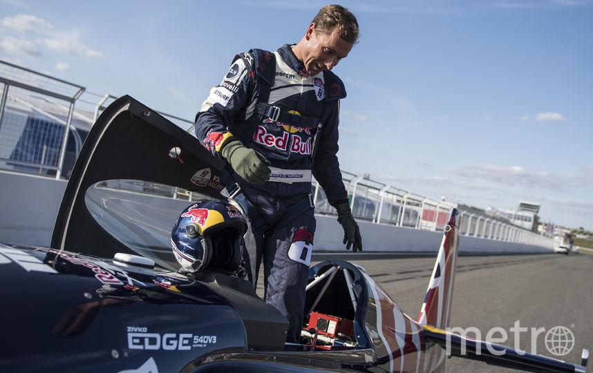 Победитель этапа, чешский пилот Шонка. Фото redbullcontentpool.com