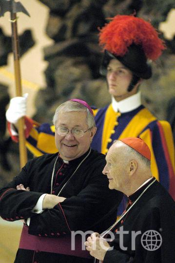 Архиепископ Вашингтона кардинал Теодор Маккэррик. Фото Getty