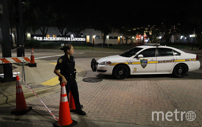 Фото с места стрельбы во Флориде. Фото Getty