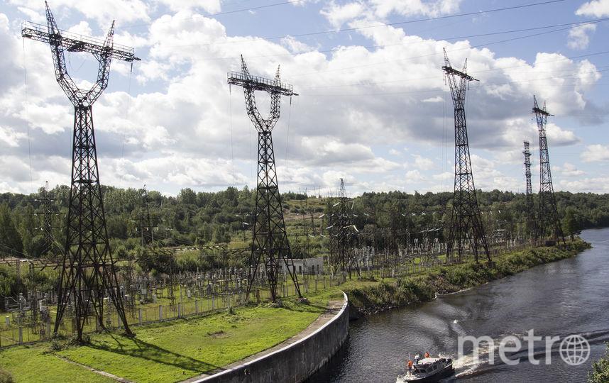 """Верхне-Свирская ГЭС. Фото Анна Тихонова , """"Metro"""""""