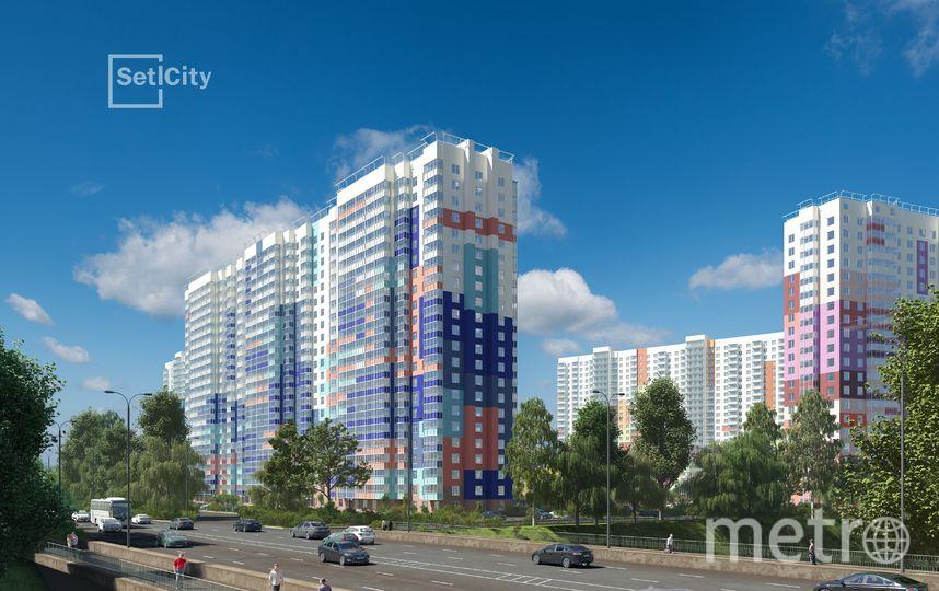 """Современные фасады должны быть яркими и запоминающимися, рассказывают эксперты. Фото Setl City, """"Metro"""""""