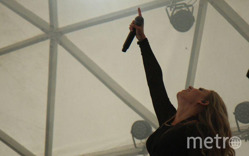"""Рита Дакота до сих пор ни разу не выходила на сцену сольно. И дебют ее состоялся именно в Петербурге. Фото Михаил Садчиков-младший, """"Metro"""""""