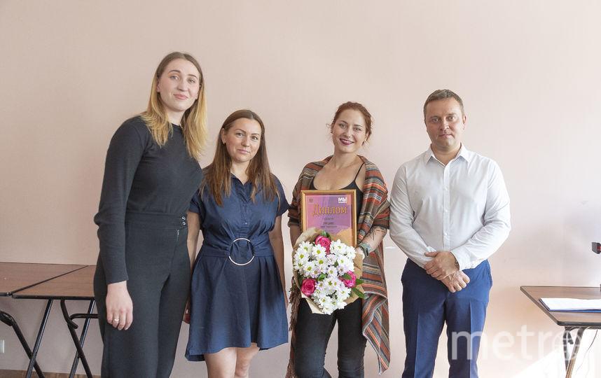 Фото с награждения победителей и призёров Конкурса дизайн-макетов.