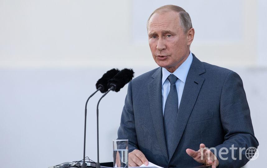 Путин выскажется о пенсионной реформе. Фото Getty
