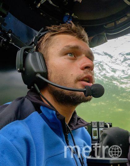 """По словам Сергея Фокина, обитаемый подводный аппарат может погружаться на глубину до 2,5 км. Фото Алена Бобрович, """"Metro"""""""