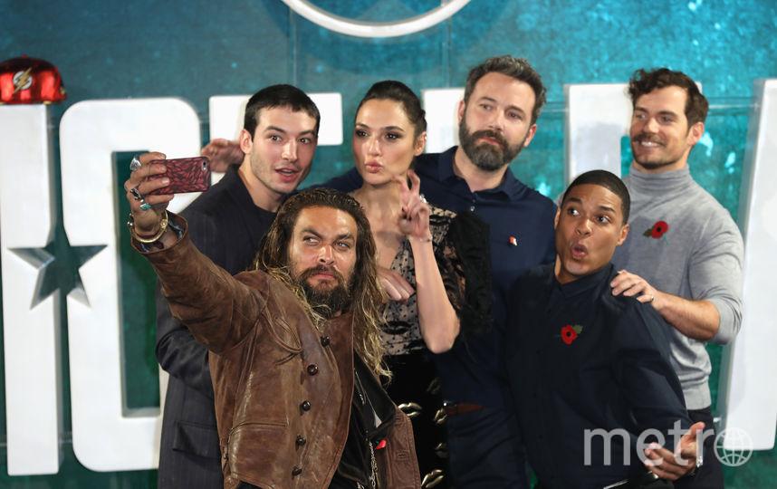 Бен Аффлек и другие актёры фильмов вселенной DC. Фото Getty