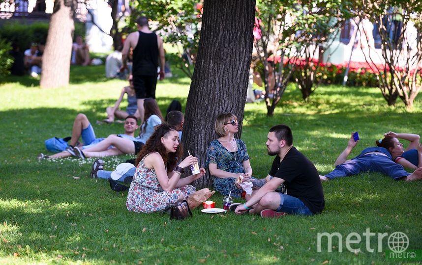 Гроза и до 28 градусов тепла ожидается в Москве 30 августа. Фото Василий Кузьмичёнок