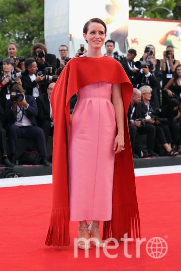 Платья с красной дорожки кинофестиваля в Венеции. Клер Фой. Фото Getty