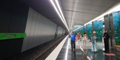 Пассажиры опробовали семь новых станций столичного метро: первые фото
