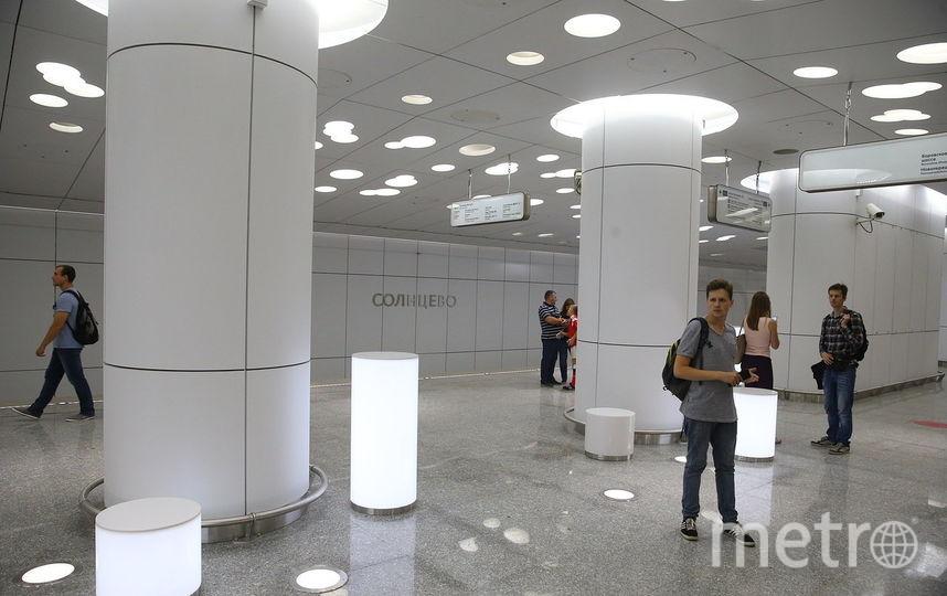 "Станция ""Солнцево"". Фото Василий Кузьмичёнок"