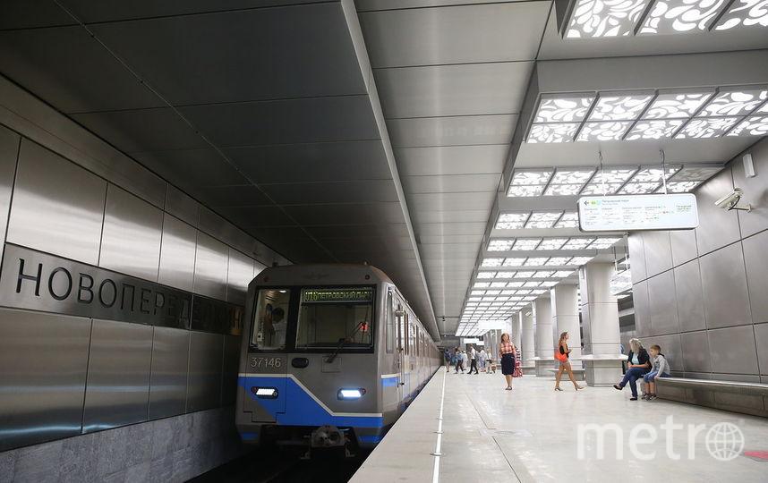 """Станция """"Новопеределкино"""". Фото Василий Кузьмичёнок"""