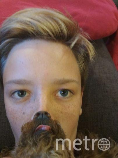 Меня зовут Никита (12 лет). Моя собака - пудель Тома. Фото Никита Гусев
