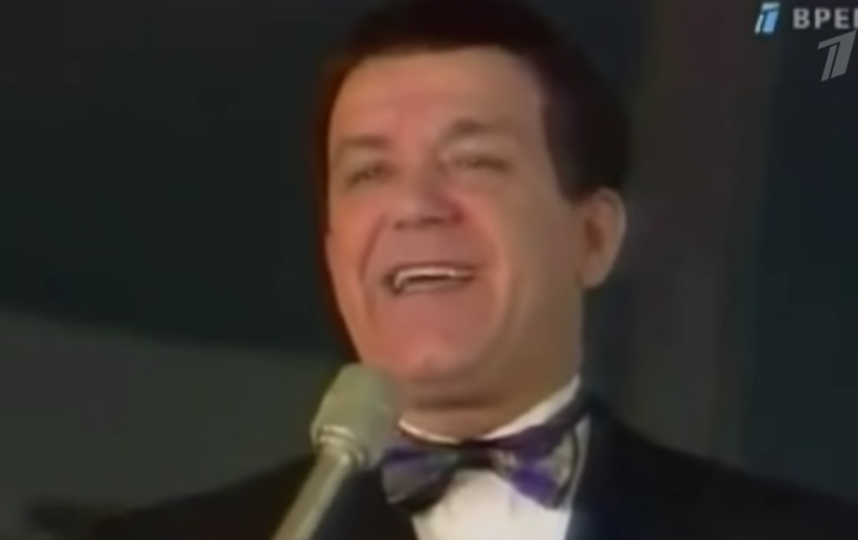 Скончался Иосиф Кобзон. Фото Скриншот Первого канала., Скриншот Youtube