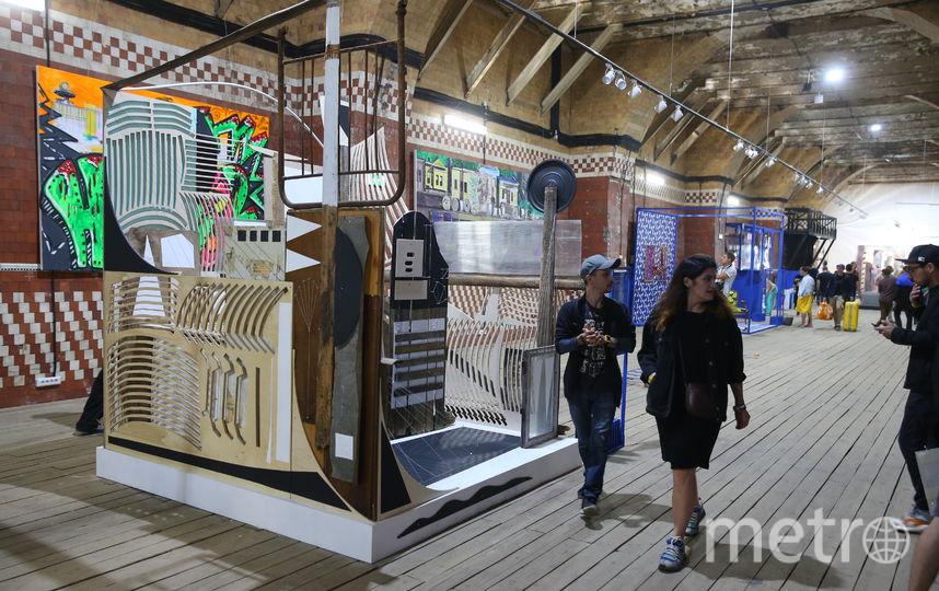 В столице состоялось открытие выставки, которая объединила уличное искусство разных стран. Фото Василий Кузьмичёнок