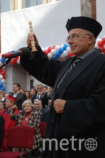 "Александр Запесоцкий. Фото ""Metro"""