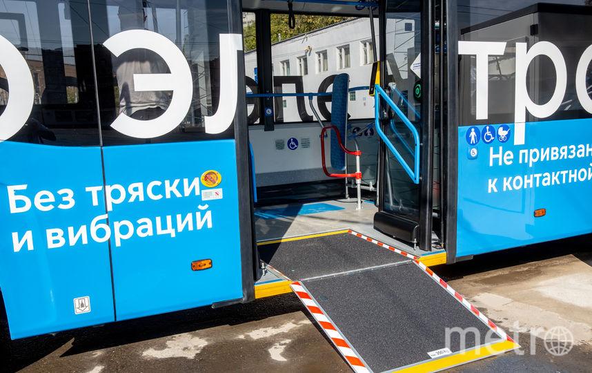 Первые электробусы выйдут на дороги Москвы первого сентября. Фото предоставлено Департаментом транспорта и развития дорожно-транспортной инфраструктуры города Москвы