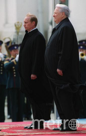 Борис Ельцин и Владимир Путин. Фото Getty