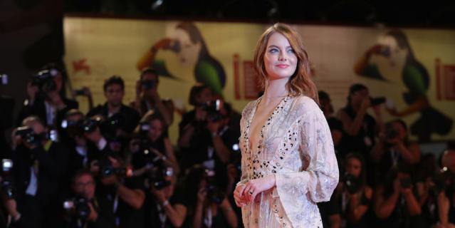Платья звезд Венецианского кинофестиваля. Эмма Стоун.
