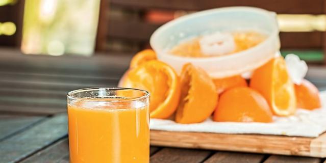 Апельсиновый сок.