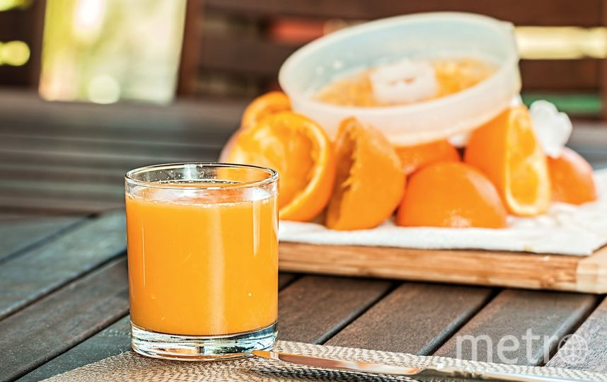 Апельсиновый сок. Фото https://pixabay.com/
