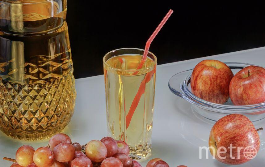 Виноградный сок. Фото https://pixabay.com/