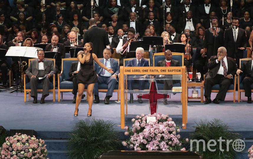 Похороны Ареты Франклин. Фото Getty