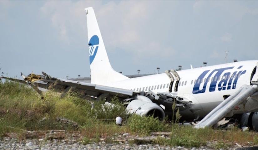 Возгорание Boeing в Сочи: пострадали 18 человек. Фото РИА Новости