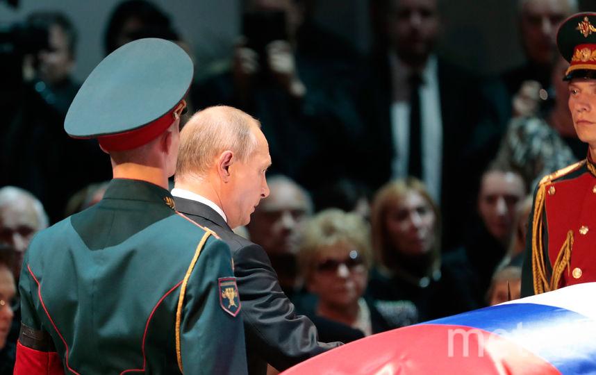 С Иосифом Кобзоном простились в Концертном зале им. Чайковского. Фото AFP