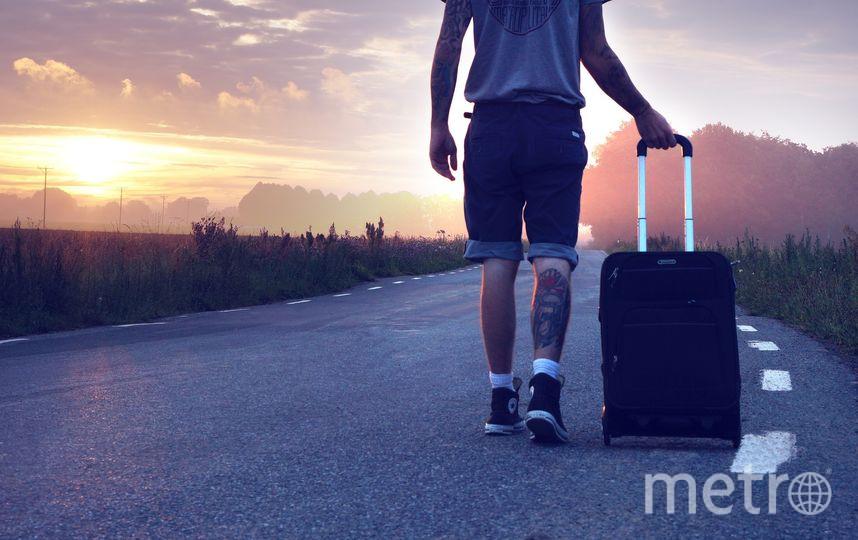На границе с Турцией задержали мужчину с девушкой в чемодане. Фото Pixabay.com