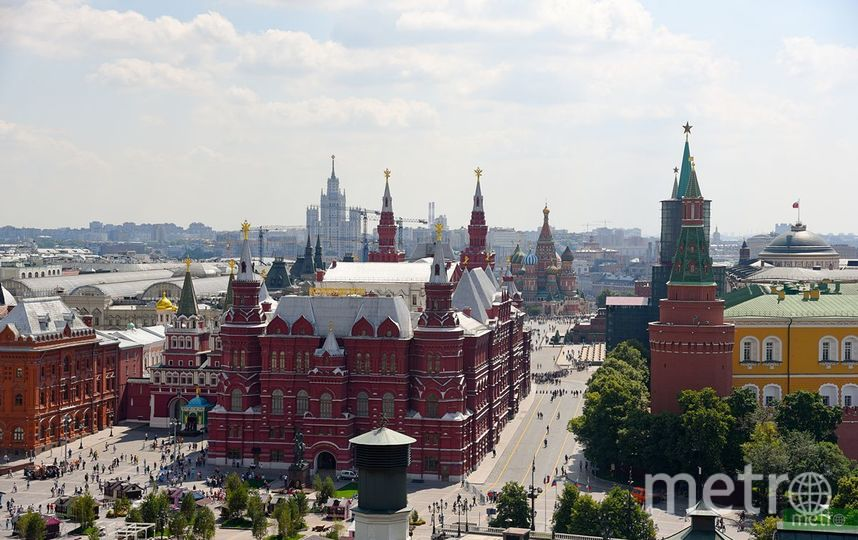 В Москве ожидается тёплый сентябрь. Фото Василий Кузьмичёнок