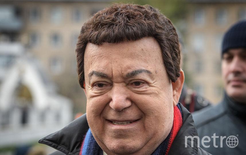 Собянин предложил увековечить память Кобзона. Фото AFP