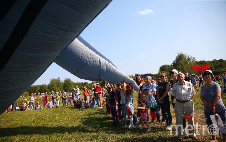В Москве прошёл международный фестиваль воздушных змеев. Фото Василий Кузьмичёнок