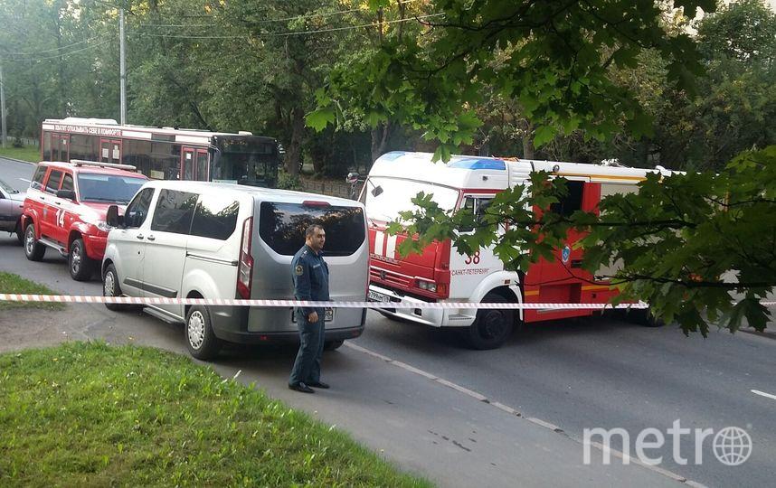 ЧП на Костюшко. Фото vk.com