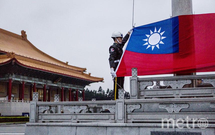 Флаг Тайваня. Фото Getty