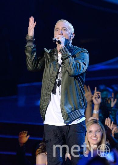 Eminem занял первую строчку нашего рейтинга. Фото Getty