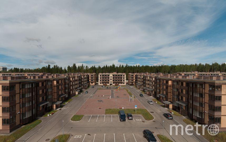 """Во дворах будут и парковки, и зелень, и детские площадки – и никто не будет никому мешать. Фото """"Петрострой"""", """"Metro"""""""