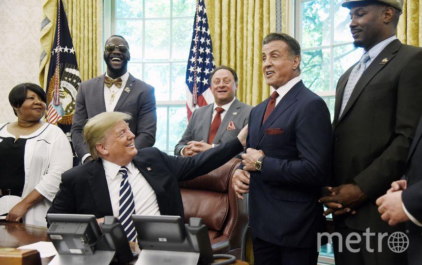 Награждение Сталлоне. Фото Getty