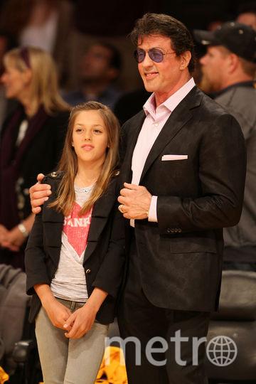 С дочерью в 2010-м году. Фото Getty