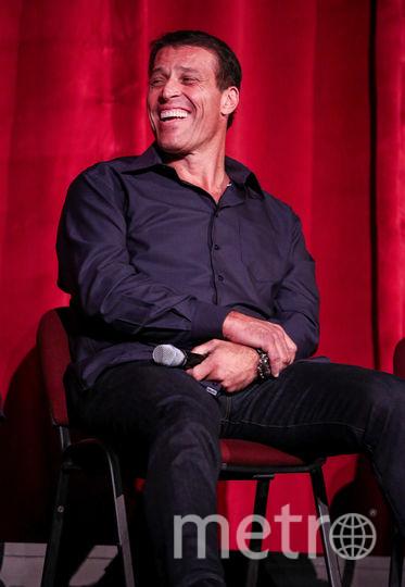 Тони Роббинс. Фото Getty