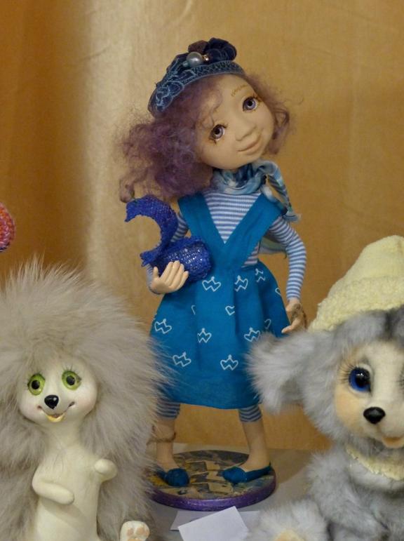 Куклы Ирины Медянцевой, фотоархив.