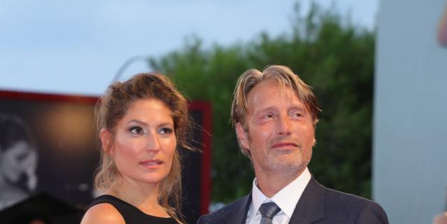 Мэдс Миккельсен и его супруга Ханне Якобсен.
