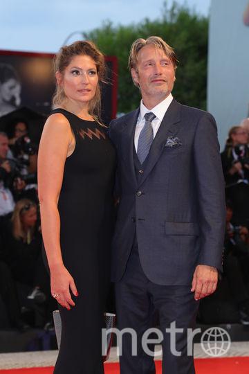 Мэдс Миккельсен и его супруга Ханне Якобсен. Фото Getty