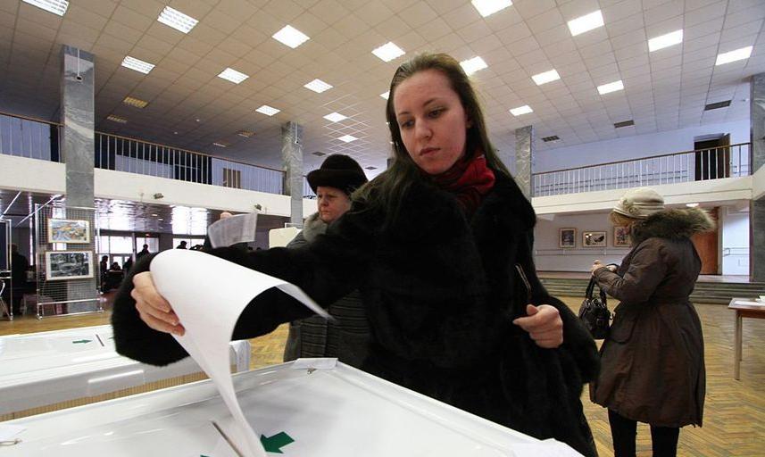 Выборы мэра Москвы пройдут в Единый день голосования 9 сентября 2018 года. Фото Василий Кузьмичёнок