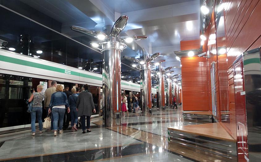 """Станция метро """"Беговая"""", фотоархив. Фото """"Metro"""""""