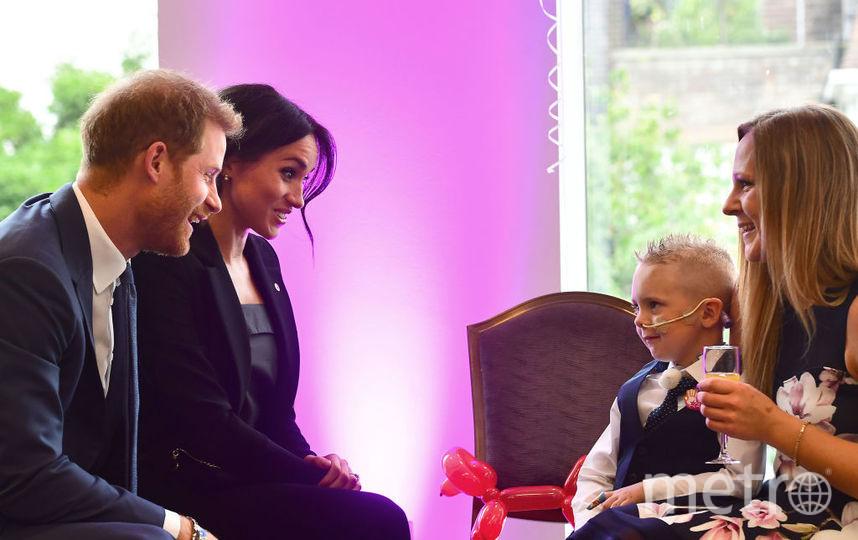 Меган Маркл и принц Гарри на ежегодном мероприятии WellChild Awards. Фото Getty