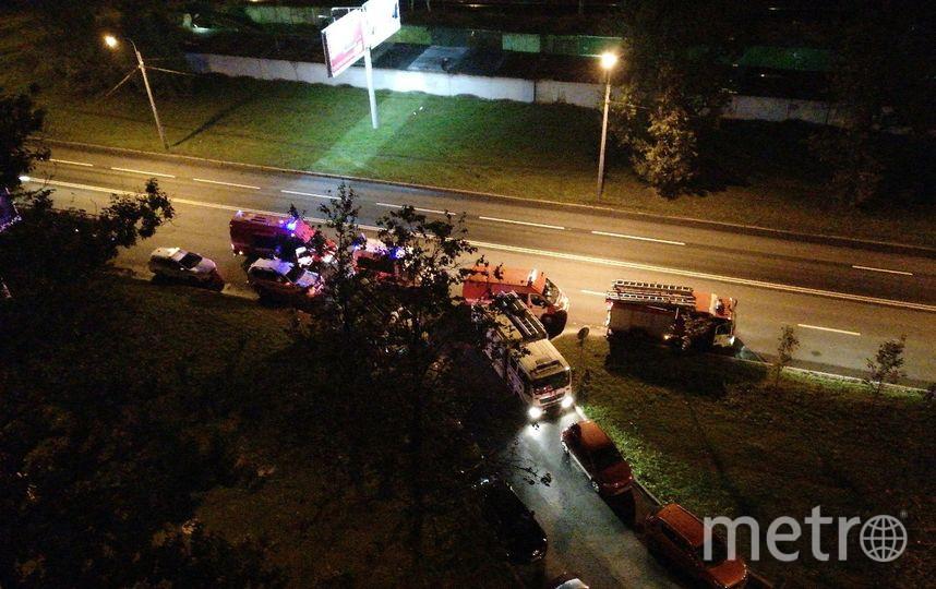 На Народного Ополчения прогремел взрыв: в доме взорвался газ. Фото https://vk.com/spb_today
