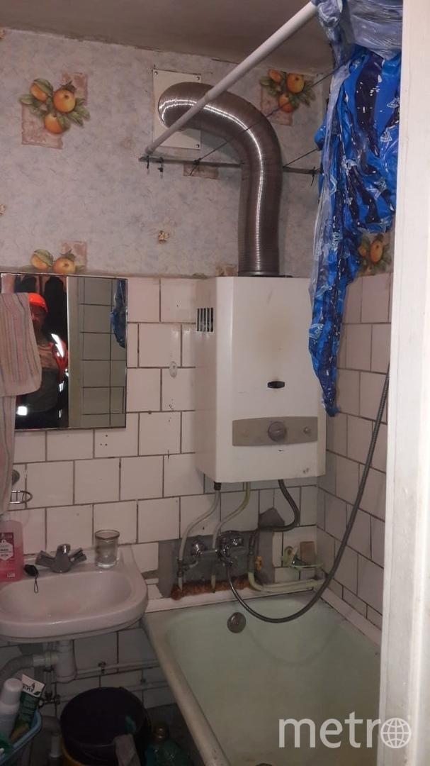 "Квартира, где произошел взрыв. Фото Предоставлено ГРО ""ПетербургГаз"""